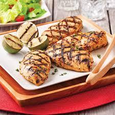 cuisine a base de poulet poitrines de poulet grillées lime et tequila recettes cuisine et