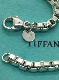 box chain bracelet images Tiffany co 925 sterling silver box chain bracelet tradesy jpg