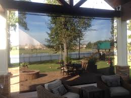 Motorized Screens For Patios Custom Roll Shades For Home Or Business High Quality Bargain Prices