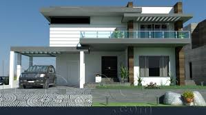 home front view design pictures in pakistan plan of 1 kanal 10 marla modern house design in paksitani modern