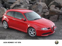 alfa romeo 147 gta in uk press fiat group automobiles press