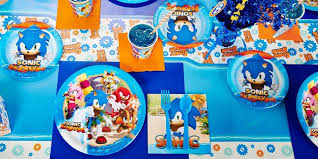 sonic party supplies sonic boom birthday supplies the birthday depot