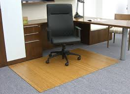 Office Chair Rug Bamboo Chair Mats Are Foldable Desk Chair Mats American Office
