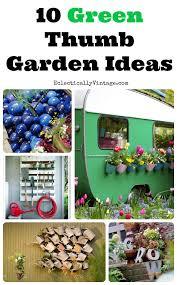10 unique garden ideas