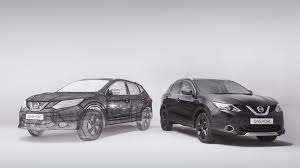 nissan qashqai limited edition nissan qashqai recreated as huge 3d pen sculpture