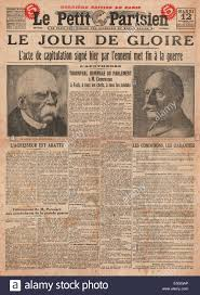 1918 le petit parisien france front page reporting germany u0027s