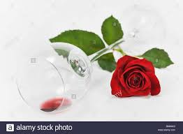 glass roses wineglass glass still lives respect relation drink