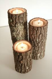 tree branch candle holder rustic wood candle holders spicytec