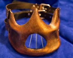 Hannibal Halloween Costume Hannibal Lecter Mask Etsy