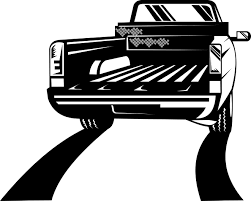 Old Ford Truck Vector - truck tailgate cliparts free download clip art free clip art