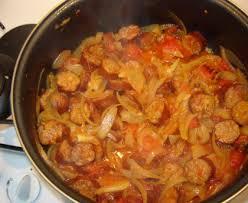 cuisiner saucisse de toulouse rougail saucisse recette de rougail saucisse marmiton