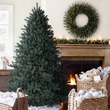 amazon com balsam hill classic blue spruce artificial christmas