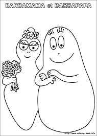 49 barbapapa klas images coloring drawings