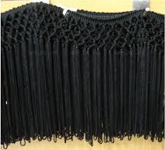 15cm black rayon handmade classical net tassel fringe