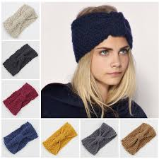 knitted headband winter crochet knitted headbands for hair band turban