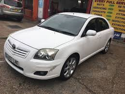 toyota avensis 2007 toyota avensis 2 0 automatic white 1 owner no previous owner