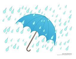 umbrella with raindrops clipart 34
