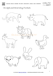 farm animals worksheets free worksheets library download and