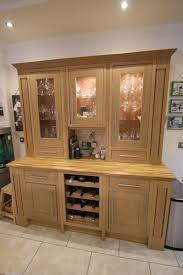 oak kitchen island large painted oak kitchen island and dresser unit granite and