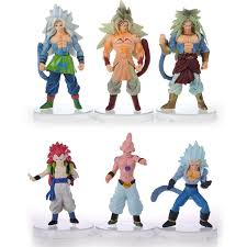 shop 6 pcs figurines dragon ball super saiyan goku son