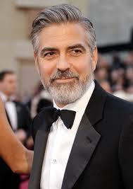 older men s hairstyles 2013 he s wearing his grey well george clooney oscars oscars2013