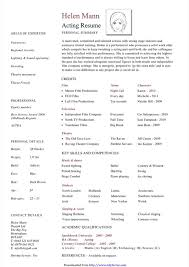 acting resume template for microsoft word acting resume template free templates in doc ppt pdf xls