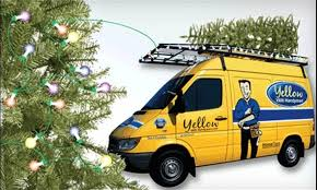 55 off christmas tree and delivery yellow van handyman dnr
