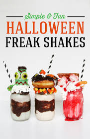 halloween freak shakes recipe creepy halloween halloween