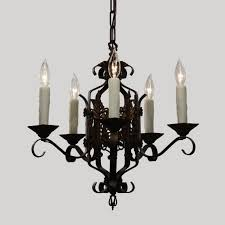 Tudor Chandelier Tudor Wrought Iron Chandelier Antique Lighting Preservation