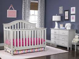 Grey Convertible Cribs Fisher Price Kingsport 5 In 1 Convertible Crib