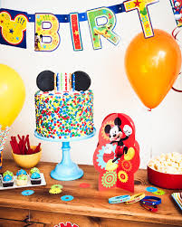 Mickey Mouse Table by A Colorful Mickey Mouse Birthday Party Disney Family