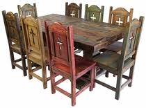 mexican dining table set painted country style mexican dining furniture