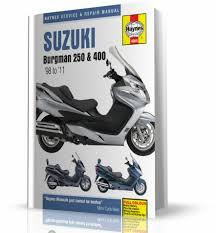 suzuki burgman 250 400 1998 2011 instrukcja napraw haynes
