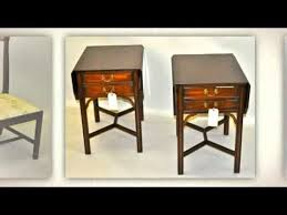 Henkel Harris Desk Pre Owned Henkel Harris Furniture Youtube