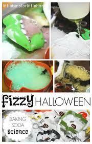 fizzy halloween science baking soda vinegar experiment