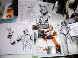 kid sketches star wars clone wars character encyclopedia video review