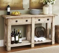 Pine Console Table Rustic Pine Console Table Foter