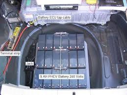 toyota prius 2007 battery aprs solar phev