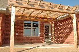 Attached Pergola Designs by Popular Attached Pergola Plans U2014 All Home Design Ideas