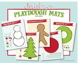 printable playdough recipes christmas playdough mats free printable live craft eat