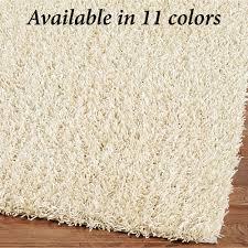 Tied Rag Rug Ideas U0026 Tips Rectangle Shag Rugs In White For Floor Decor Ideas