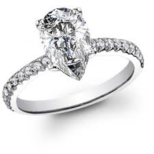 Pear Shaped Wedding Ring by Pear Shaped Engagement Rings