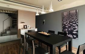 simple modern dining room decor design in an urban for decorating modern dining room decor