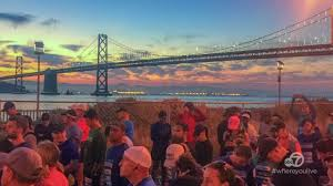 Traffic Map San Francisco by Jp Morgan Chase Corporate Challenge Run Along Embarcadero To
