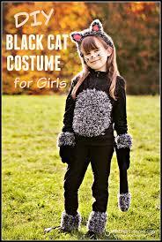 Childrens Halloween Costume Patterns Diy Cat Costume Kids Diy Cat Costume Black Cat Costumes