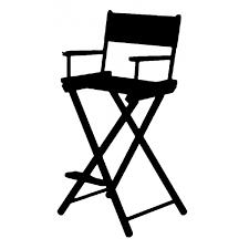 chaise de cinéma chaise de directeur cinema chaise idées de décoration de