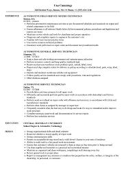 resume tips and exles automotive service technician resume sles velvet