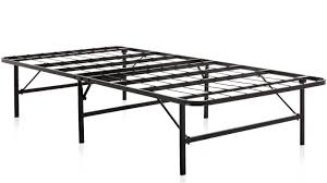 Collapsible Bed Frame Weekender Foldable Metal Platform Bed Frame U0026 Reviews Wayfair