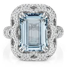 aquamarine and diamond ring cirrus aquamarine and diamond ring in platinum brilliant earth