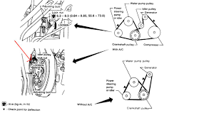 nissan sentra won t start but cranks 1997 nissan sentra pulley or tensioner alternator and compressor